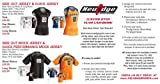 NeuEdge Custom Dyed Team Volleyball Uniforms (Call 1-800-234-2775 to order)