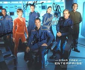 Star Trek Enterprise Scott Bakula 6 Cast Autograph Photo #2