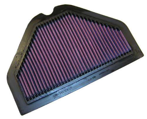 K&N Ka-1093 Kawasaki High Performance Replacement Air Filter front-550085