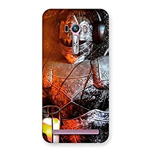 Cute Warrior Knight Print Back Case Cover for Zenfone Selfie