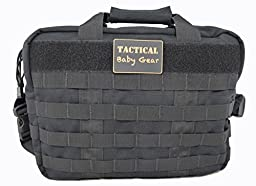Call of Daddy Tactical Baby Gear Heavy Doodie Diaper Bag (Black)