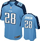 Chris Johnson Jersey Home Blue Game Replica #28