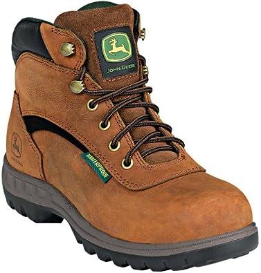 John Deere Ladies Lace Up WP Oil Resistant Hiking Boots by John Deere