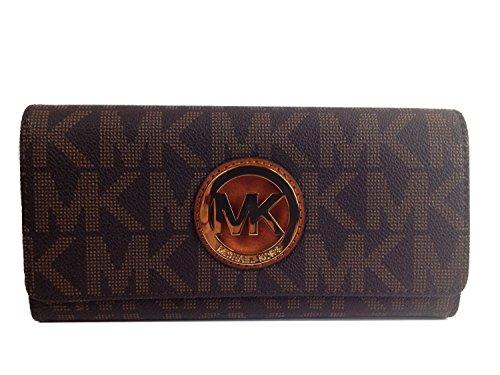 michael-kors-signature-pvc-fulton-flap-wallet-in-brown