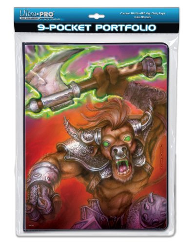Ultra Pro 9 Pocket Binder - Monte Moore - War Beast