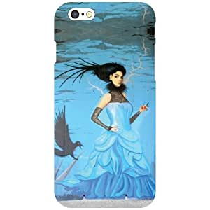 Printland Beauty & Lady Back Cover For Apple iPhone 6