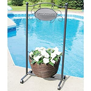 Tierra Garden 33745 Welcome Rattan 39-Inch H Planter, Bronze (Discontinued by Manufacturer)