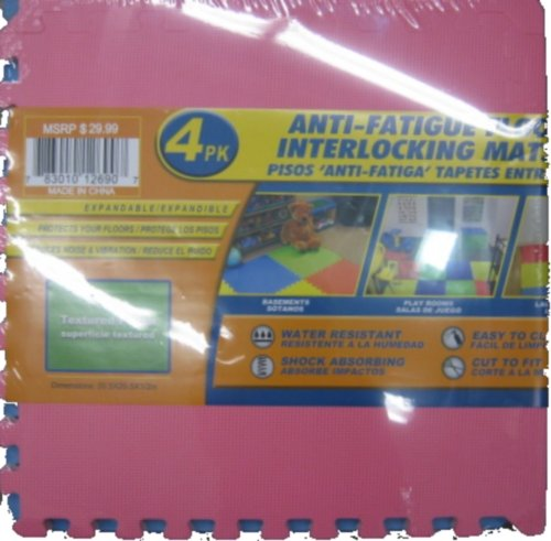 Flooring Mats Anti-Fatigue 41 In x 41 In