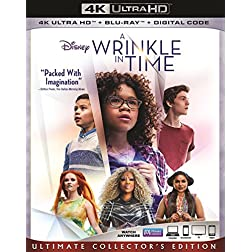 A Wrinkle In Time [4K Ultra HD + Blu-ray]