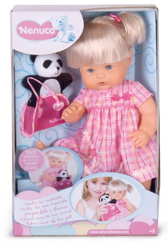 famosa 7422 nenuco bambola girl con access.assortite
