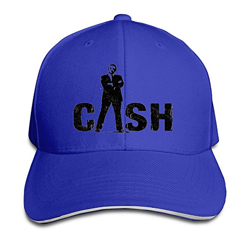 MayDay I Love Cash Unisex Sandwich Hat RoyalBlue