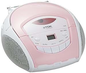TDK LoR ポータブルCDラジオ ピンク SP-CD8211PK