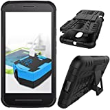 Moto G3 Hybrid Armour Tire Pattern Rubber Bumper Ragged Case Cover New Arrival Best Selling Premium Quality Lowest...