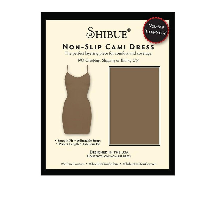 Shibue Couture Non-Slip Cami Dress – Formendes Unterkleid – Farbe Mokka, Größe S günstig kaufen