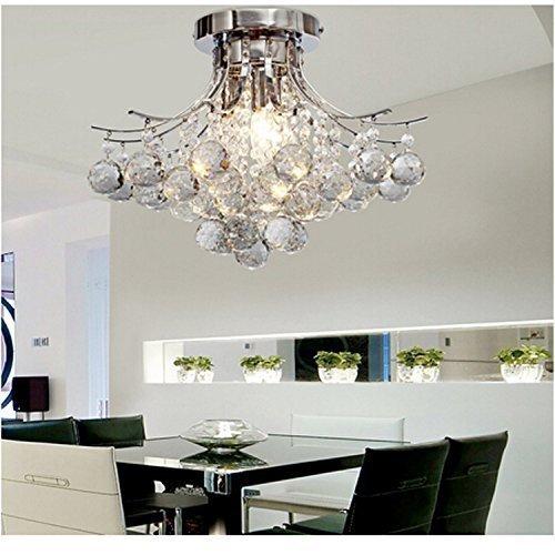 Alfred® 3 luce lampadario di cristallo moderno (finitura cromata ...