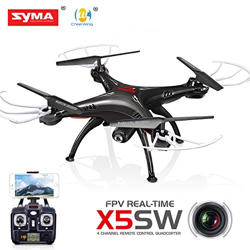 Cheerwing Syma X5SW FPV 2.4Ghz 4CH 6-Axis Gyro RC Headless Quadcopter