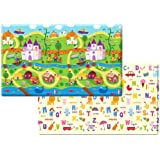 Dwinguler Eco-friendly Kids Play Mat - Fairy Land (Large)
