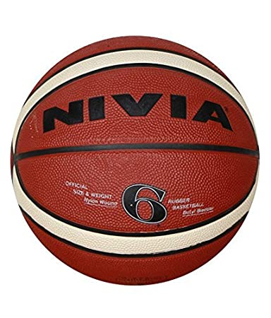 Buy Nivia Engraver Basketball, Size 6 (Red) Online at Low Prices ...