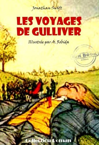 Jonathan Swift - Les voyages de Gulliver (avec illustrations)