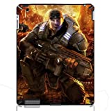 Gears Of War Marcus Fenix Hard Back Protective Cover Case for iPad 2/4/The New iPad 3 iMCA-CP-16806 i Pad Tablet PC Housing