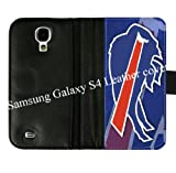 Samsung Galaxy S4 S IV Diary Leather Cover Case With Buffalo Bills Background As Christmas Gift Designed By Coolphonecases Amazon.com