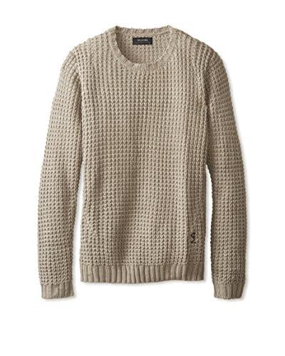 Religion Men's Textured Crew Neck Sweater