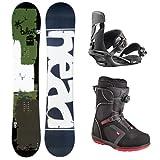 HEAD(ヘッド) スノーボード 3点セット 板 バインディング ブーツ メンズ 板150cm/バインM/ブーツ25.0cm board-set-b-150-M-250
