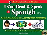 img - for I Can Read and Speak in Spanish (Book + Audio CD) by Hazan, Maurice (2005) Hardcover book / textbook / text book