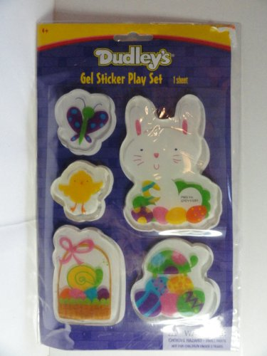 Dudley's Easter Gel Sticker Play Set