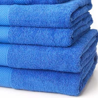 Linens Limited 100% Turkish Cotton 500gsm Bath Towel, Royal Blue