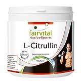 L-Citrullin zur Unterstützung des Trainings Monatspackung 400 g reines Pulver