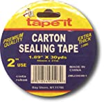 Extra Thick Carton Sealing Tape by Tape-It