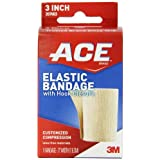 ACE Elastic Bandage with Hook Closure, 3 Inches (Pack of 2)