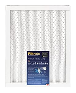 Filtrete Elite Allergen Reduction Filter, 2200 MPR, 20-Inch by 25-Inch by 1-Inch, 6-Pack