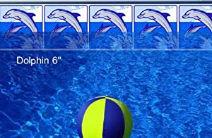 Pool Liner Makeover Kit - 10` Playful Dolphin Design