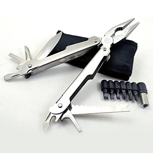 Best Multiplier Folding Knife - Ideal For Home, Office, Hunting, Bbq And Outdoor - Multiplier With 10 Tools Including Fish Scale, Pocket Knives, Wire Cutters, Bottle Opener And Screwdriver - Order High Quality Multiplier With Lifetime Guarantee
