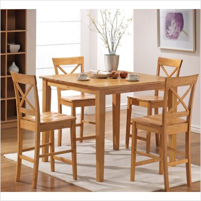 Maple Dining Room Sets Discont Cheap Cobalt 5 Piece