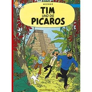 eBook Cover für  Tim und Struppi Carlsen Comics Neuausgabe Bd 22 Tim und die Picaros