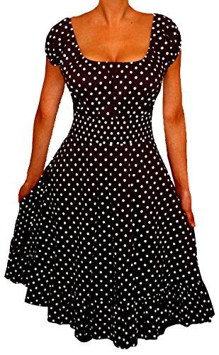 Funfash-Plus-Size-Dress-Polka-Dots-Rockabilly-Retro-Womens-Dress-Cocktail-Dress