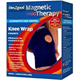 Lifes2good Magnetic Therapy Knee Wrap S/Mby Lifes2good Magnetic...