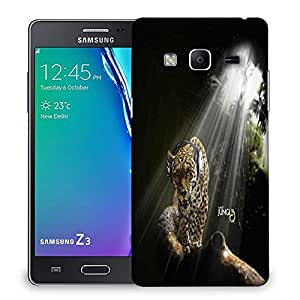 Snoogg Jungle Designer Protective Phone Back Case Cover For Samsung Galaxy Tizen T3
