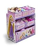 Spielzeugregal - Kinderregal - Disney´s Princess - Prinzessinnen mit 6