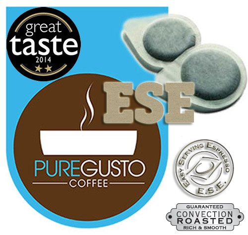 Find PureGusto - Signature - Great Taste Award Winning - ESE Coffee Pods - 100 from PureGusto