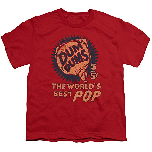 Dum Dums Candy Lollipop 5 For 5 Big Boys T-Shirt Tee