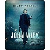【Amazon.co.jp限定】ジョン・ウィック コレクターズ・エディション(スチールブック仕様・日本オリジナルデザイン)(オリジナルデザインB2ポスター付) [Blu-ray]