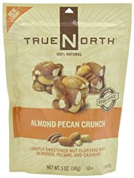 TRUE NORTH Almond Pecan Crunch, 5-Ounce (Pack of 6)