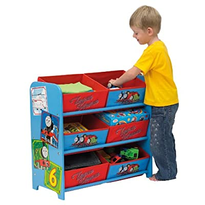 Thomas & Friends 6 Bin Storage Unit