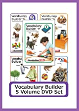 Vocabulary Builder 5 Volume DVD Set