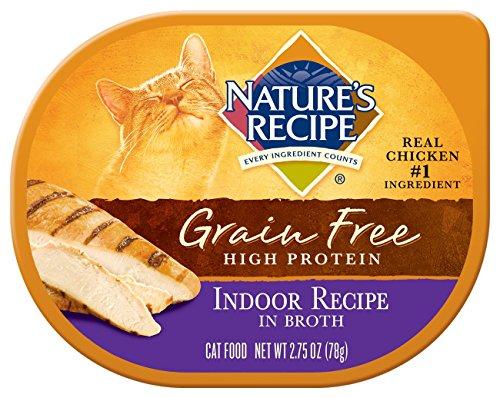 Nature's Recipe Grain Free Indoor Recipe In Broth