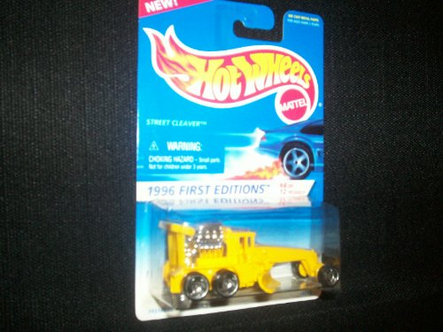 Hot Wheels 1996 First Editions 4/12 Street Cleaver T/B